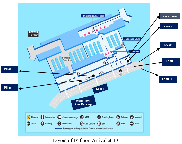 map of new delhi airport International Conference On Agricultural Statistics Home Icas map of new delhi airport